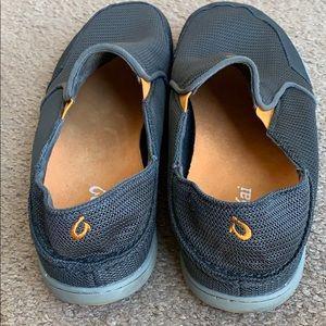OluKai Nohea Mesh Men's shoes sz 9 M gray